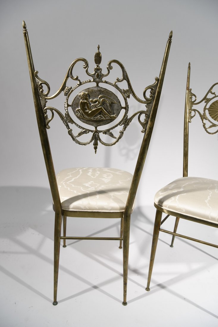 "(2) PAIR OF ITALIAN ""CHIAVARA"" CHAIRS - 9"