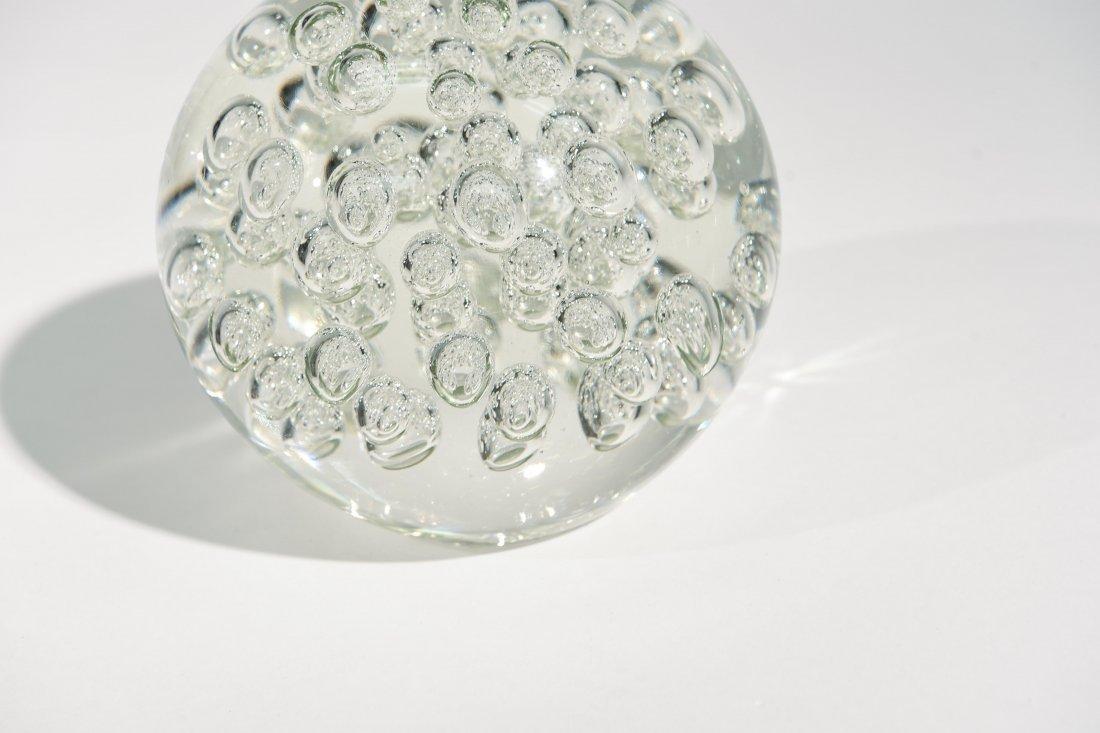 MURANO GLASS SPHERE & DISH - 5