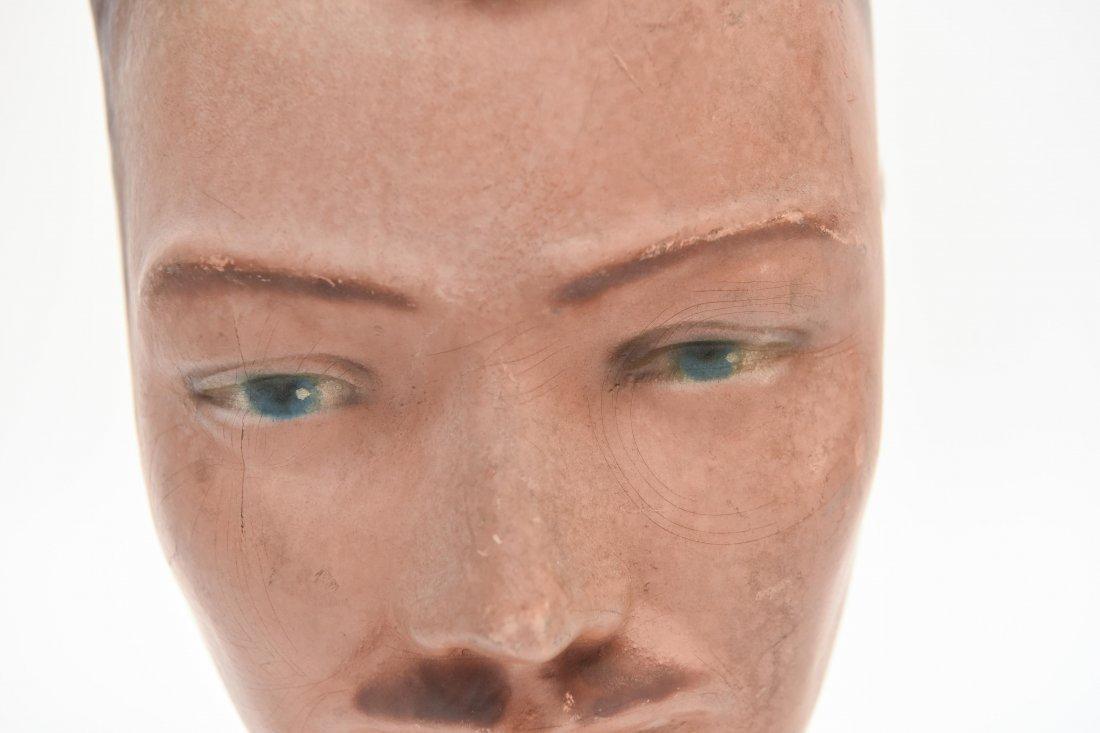 VINTAGE RUBBER MANEQUIN HEAD - 2