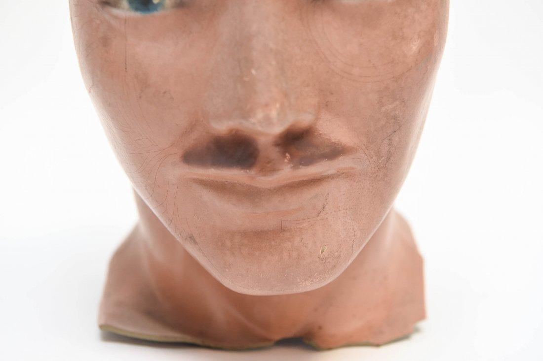 VINTAGE RUBBER MANEQUIN HEAD - 3