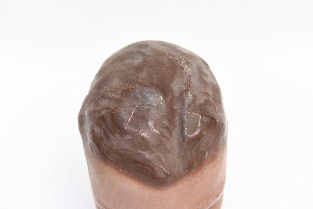 VINTAGE RUBBER MANEQUIN HEAD - 4