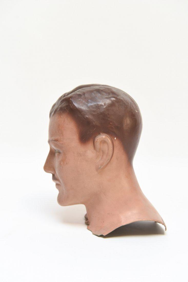 VINTAGE RUBBER MANEQUIN HEAD - 5