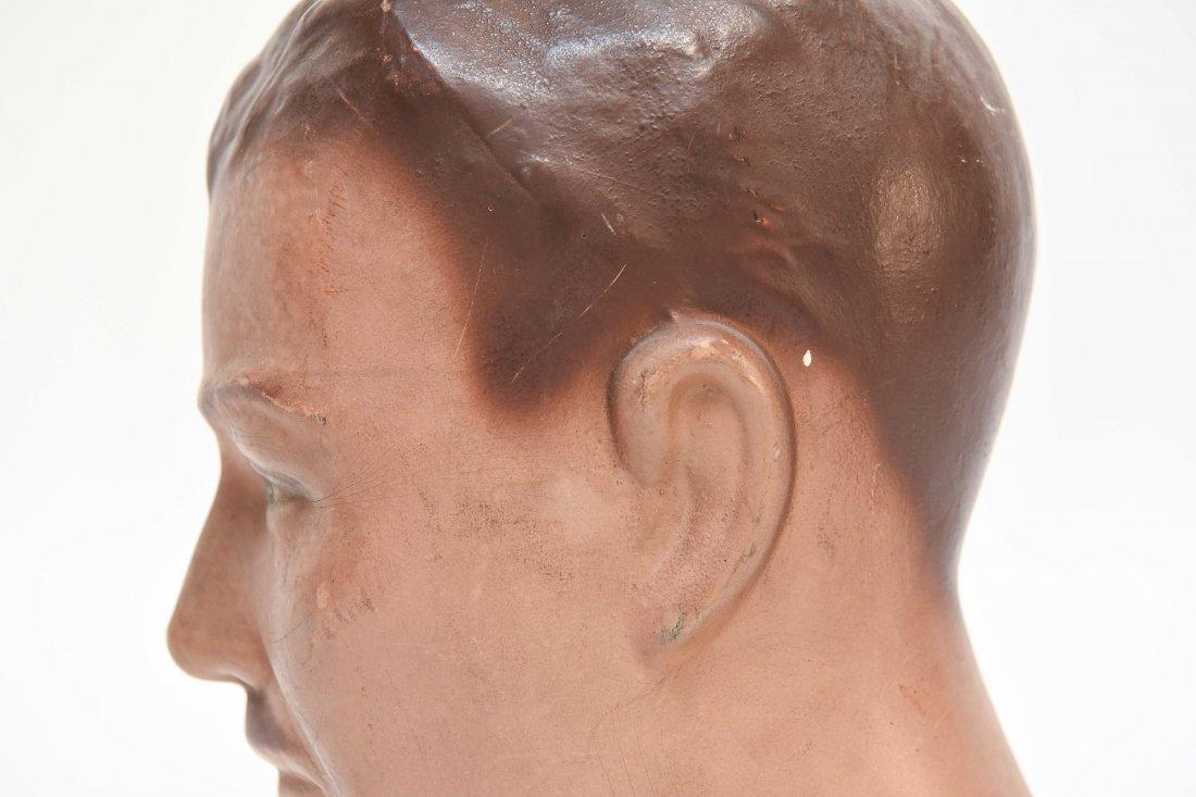 VINTAGE RUBBER MANEQUIN HEAD - 7