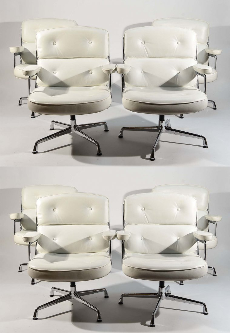 (8) EAMES STYLE TIME LIFE ARMCHAIRS