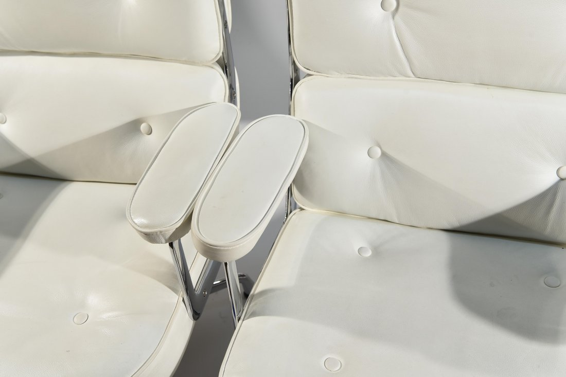 (8) EAMES STYLE TIME LIFE ARMCHAIRS - 4