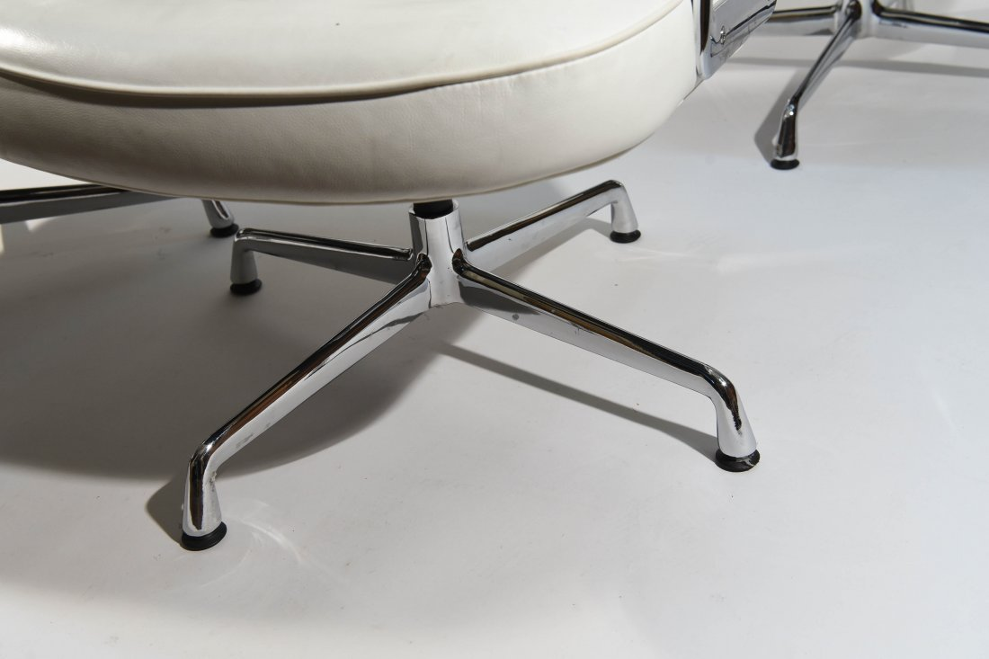 (8) EAMES STYLE TIME LIFE ARMCHAIRS - 5