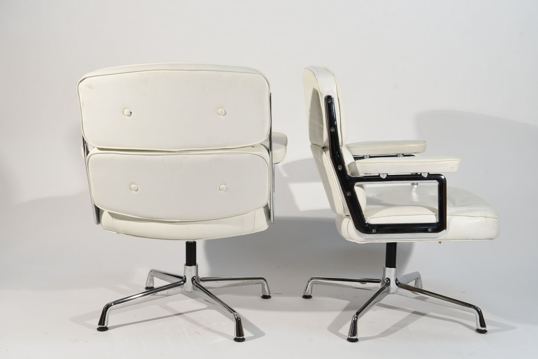 (8) EAMES STYLE TIME LIFE ARMCHAIRS - 6