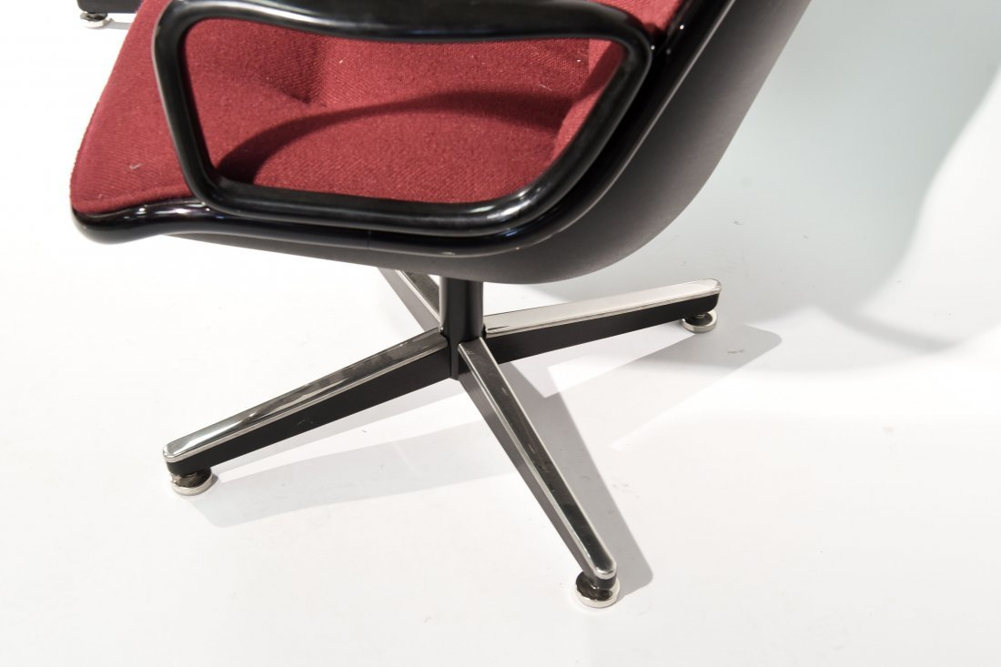 (2) CHARLES POLLACK; KNOLL CHAIRS - 5