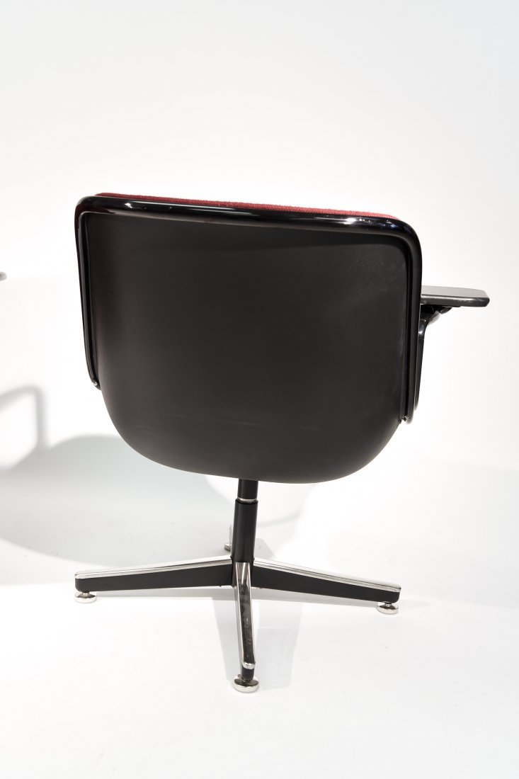 (2) CHARLES POLLACK; KNOLL CHAIRS - 6