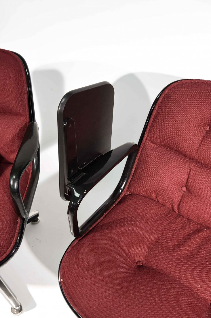 (2) CHARLES POLLACK; KNOLL CHAIRS - 7