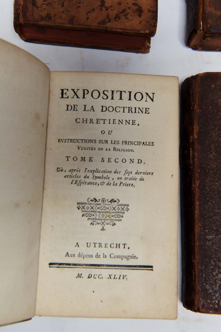 18TH C. FRENCH CHRISTIANITY BOOKS - 5