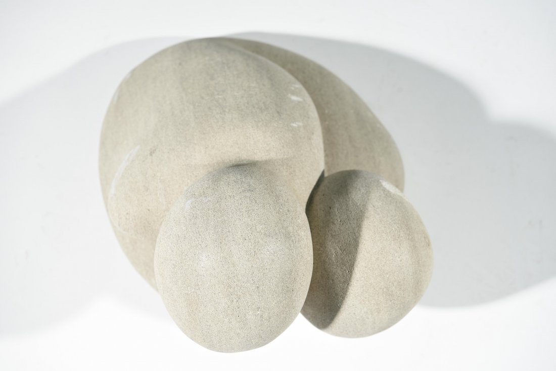20TH CENTURY ABSTRACT STONE SCULPTURE - 2