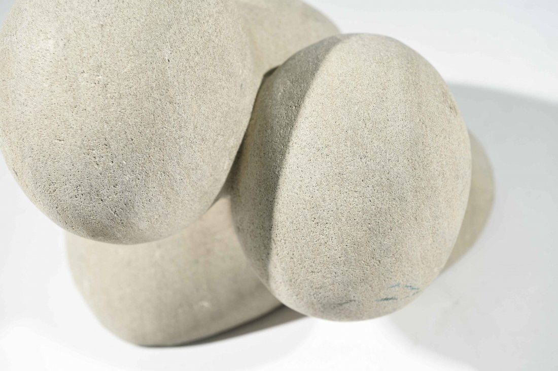 20TH CENTURY ABSTRACT STONE SCULPTURE - 3