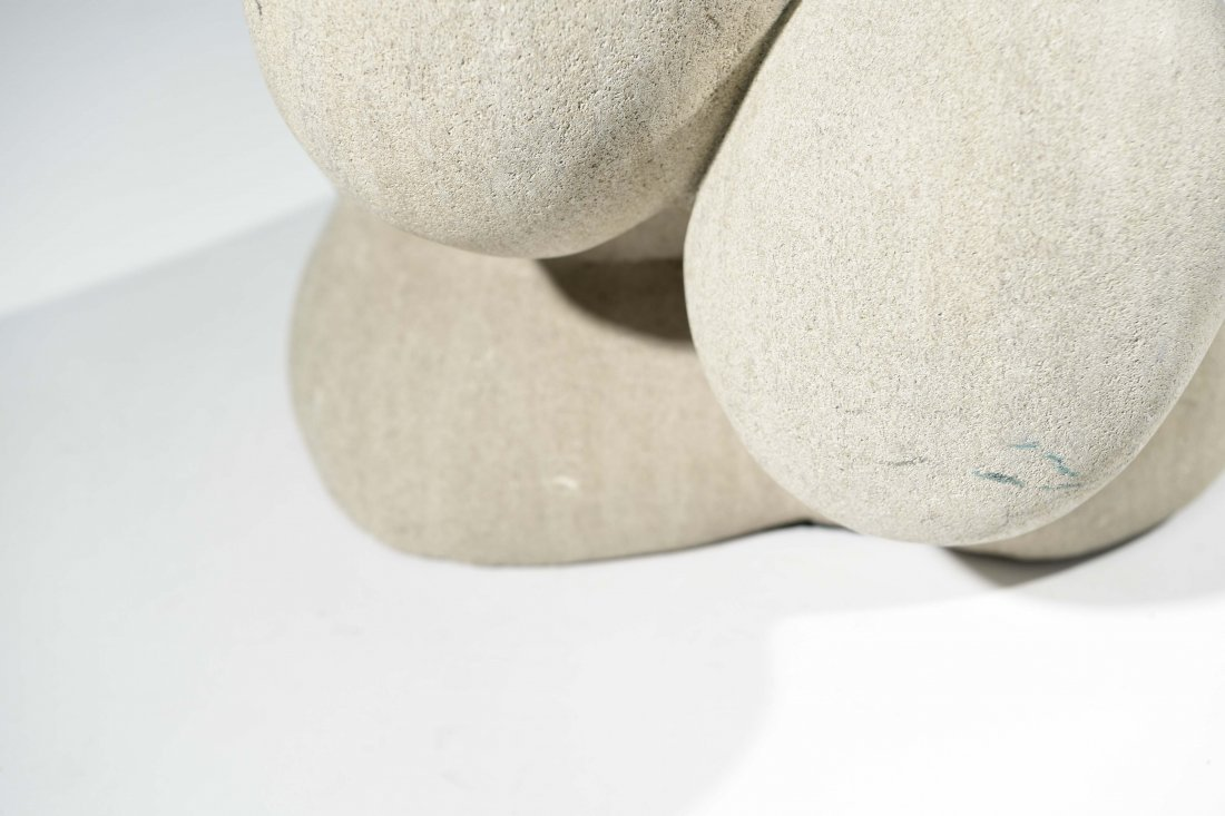 20TH CENTURY ABSTRACT STONE SCULPTURE - 5