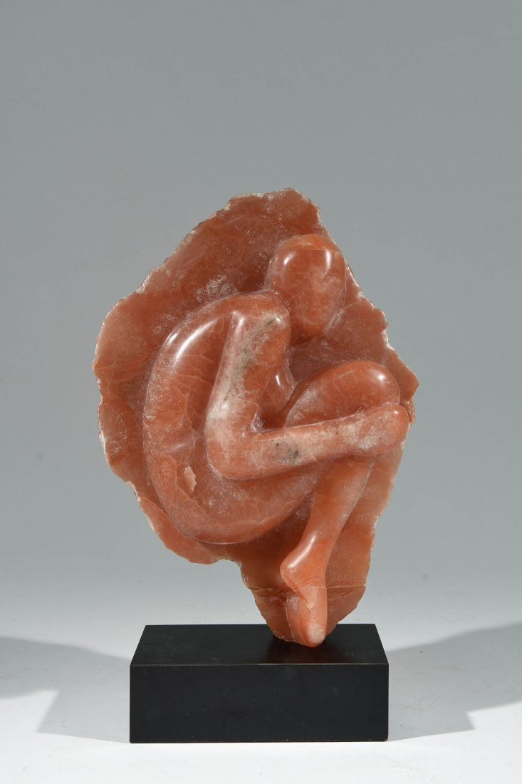 CARVED STONE SCULPTURE