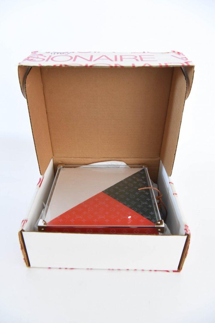 "LOUIS VUITTON VISIONAIRE ""ITALY"" CUBE PUZZLE BOX - 8"