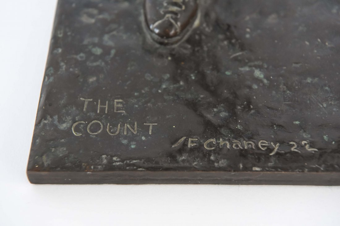 """GORHAM BRONZE OF BOXER, TITLED """"THE COUNT"""" - 4"""