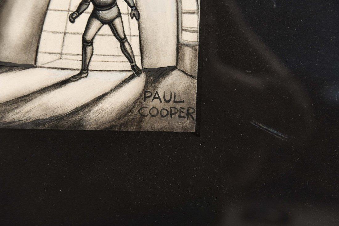 PAUL COOPER ILLUSTRATION FOR SCI-FI PLUS MAGAZINE - 4
