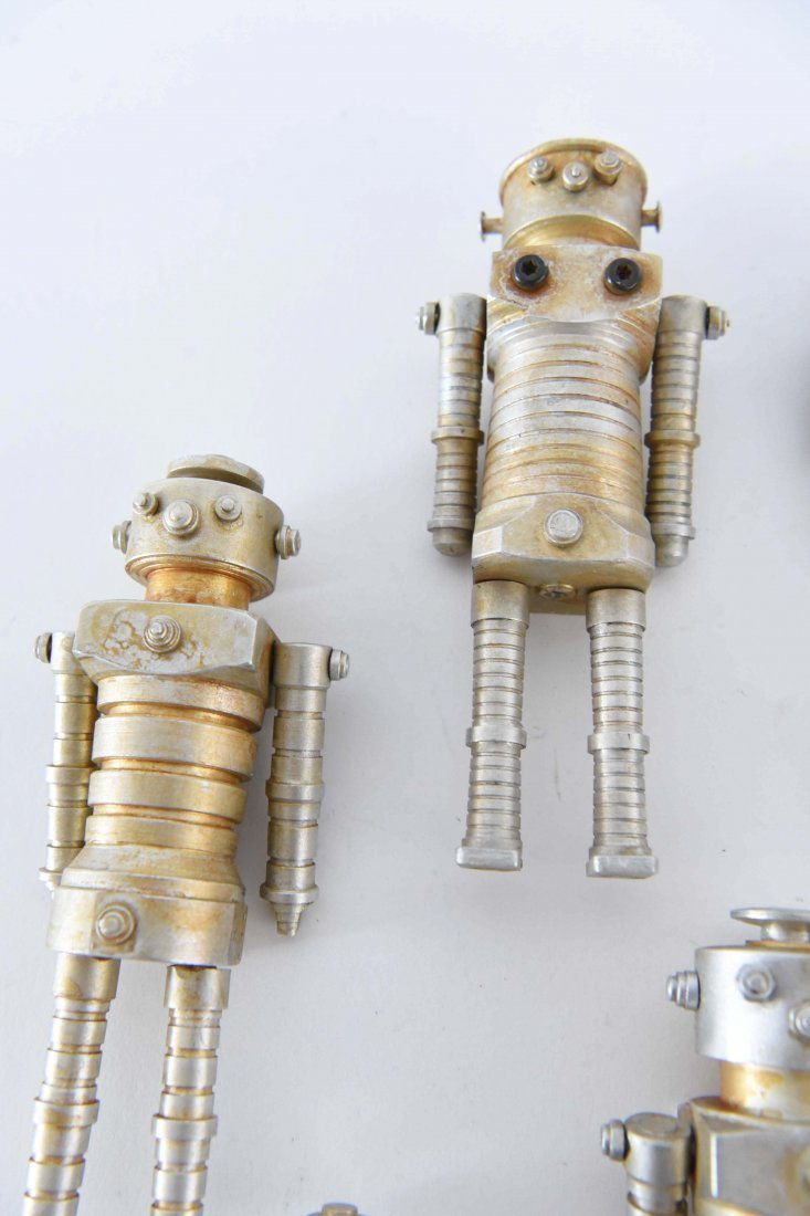 (12) MACHINE AGE ROBOT FAMILY SCULPTURES - 3