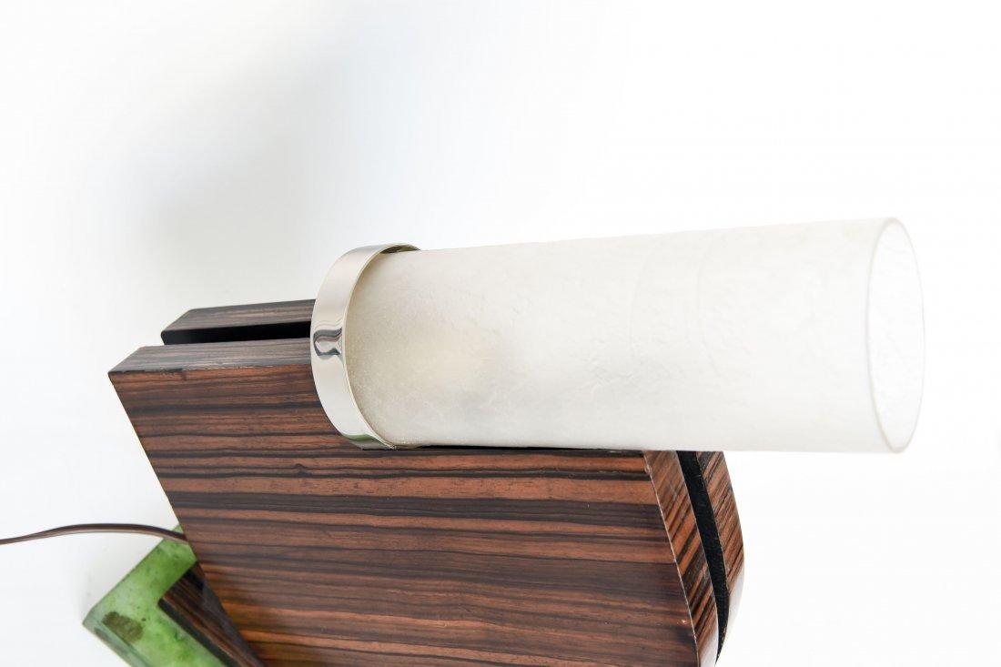 MODERNIST ART DECO TABLE LAMP - 5