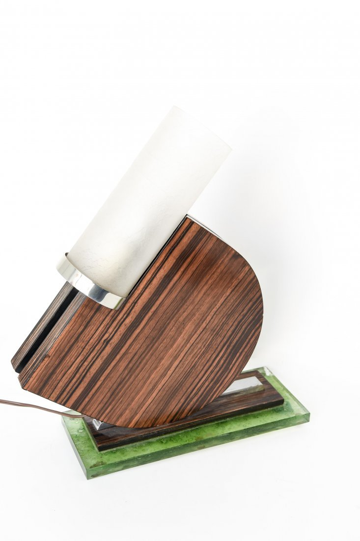 MODERNIST ART DECO TABLE LAMP - 8