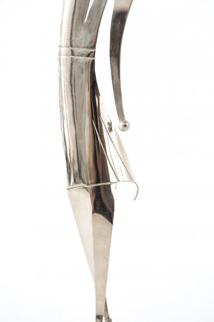 HAGENAUER ART DECO WOMAN TENNIS PLAYER SCULPTURE - 3