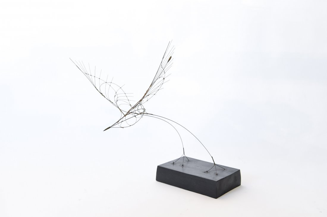 FUMIO YOSHIMURA KINETIC BIRD SCULPTURE & POSTER