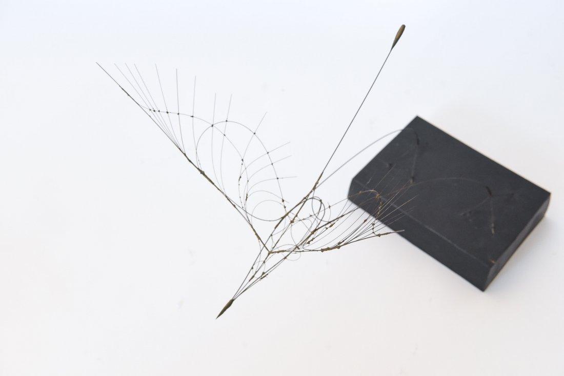 FUMIO YOSHIMURA KINETIC BIRD SCULPTURE & POSTER - 2