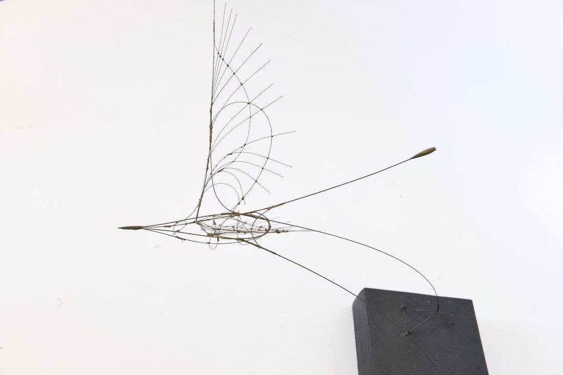 FUMIO YOSHIMURA KINETIC BIRD SCULPTURE & POSTER - 3