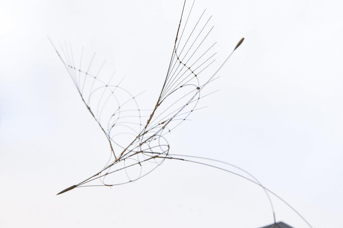 FUMIO YOSHIMURA KINETIC BIRD SCULPTURE & POSTER - 5