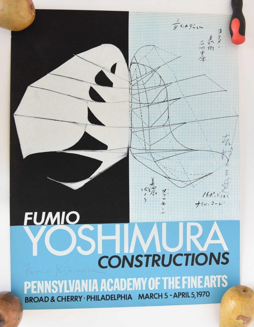 FUMIO YOSHIMURA KINETIC BIRD SCULPTURE & POSTER - 7