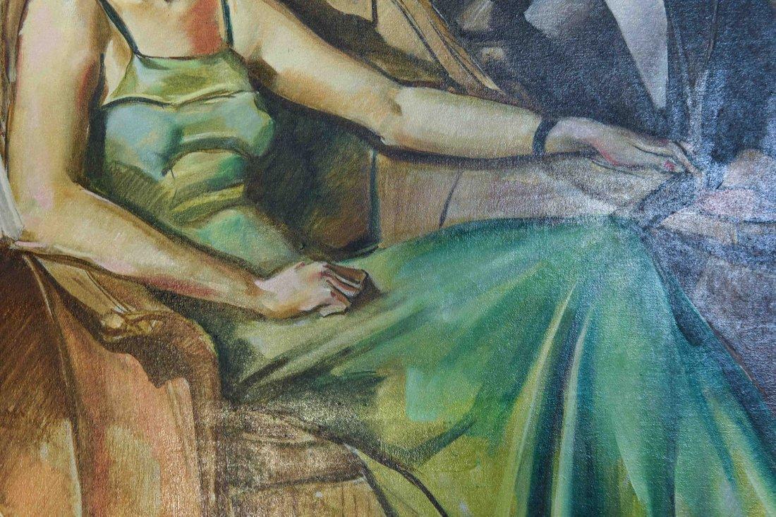 ROMANTIC PULP MAGAZINE ART DECO ILLUSTRATION - 3