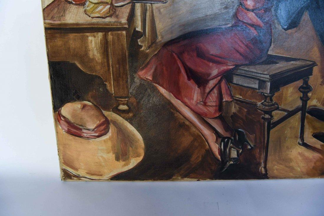 ROMANTIC PULP MAGAZINE ART DECO ILLUSTRATION - 6