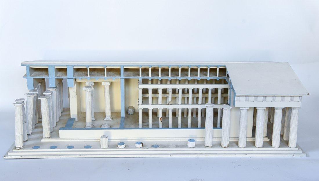 ANCIENT GREEK PARTHENON MUSEUM DISPLAY MODEL