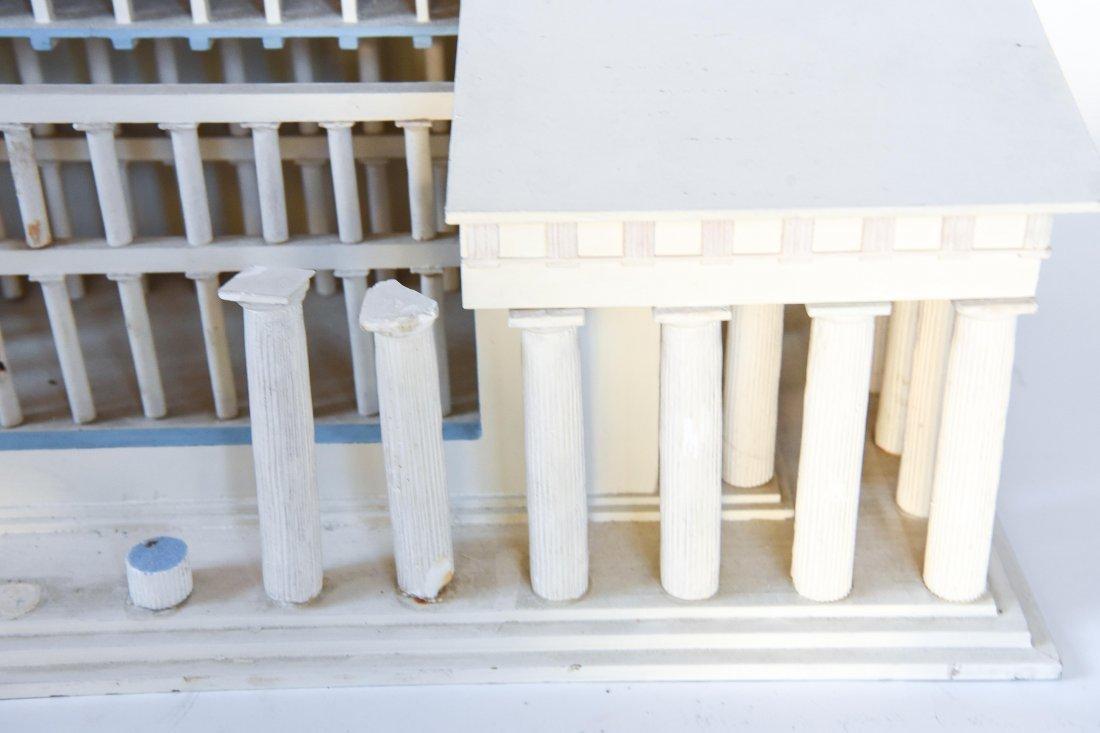 ANCIENT GREEK PARTHENON MUSEUM DISPLAY MODEL - 4