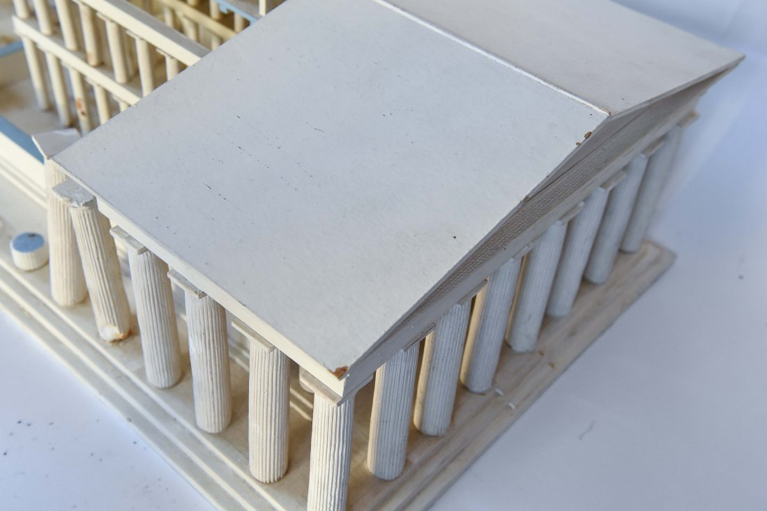 ANCIENT GREEK PARTHENON MUSEUM DISPLAY MODEL - 9