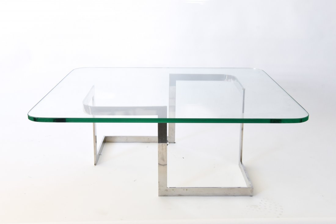 "VLADIMIR KAGAN ""INFINITY"" COFFEE TABLE"