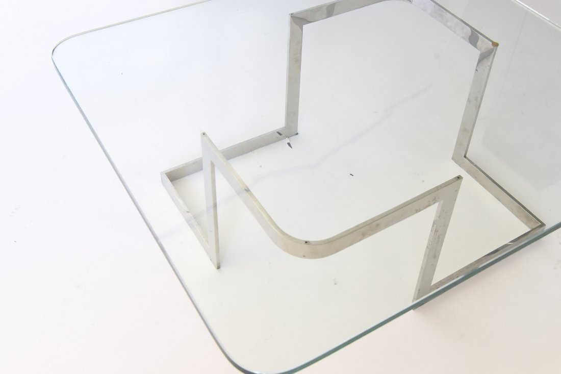 "VLADIMIR KAGAN ""INFINITY"" COFFEE TABLE - 6"