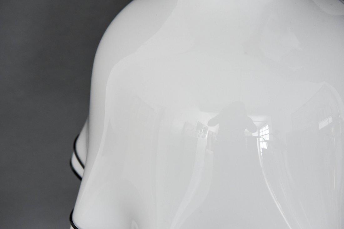 MURANO GLASS MODERNIST DRAPED SKIRT LAMP - 3