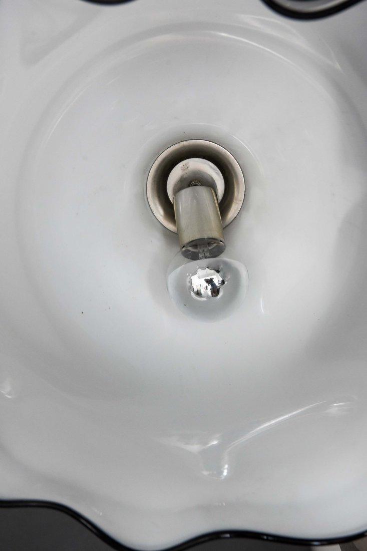 MURANO GLASS MODERNIST DRAPED SKIRT LAMP - 5