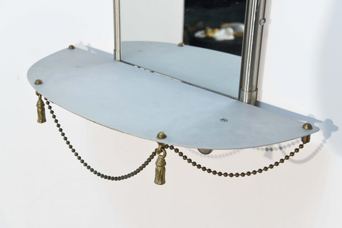 (2) HOLLYWOOD REGENCY STYLE WALL MIRRORS - 2