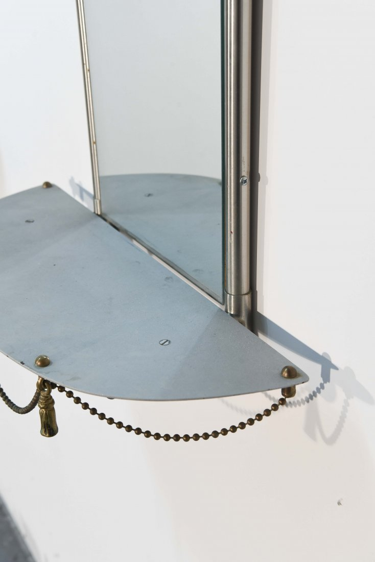 (2) HOLLYWOOD REGENCY STYLE WALL MIRRORS - 7