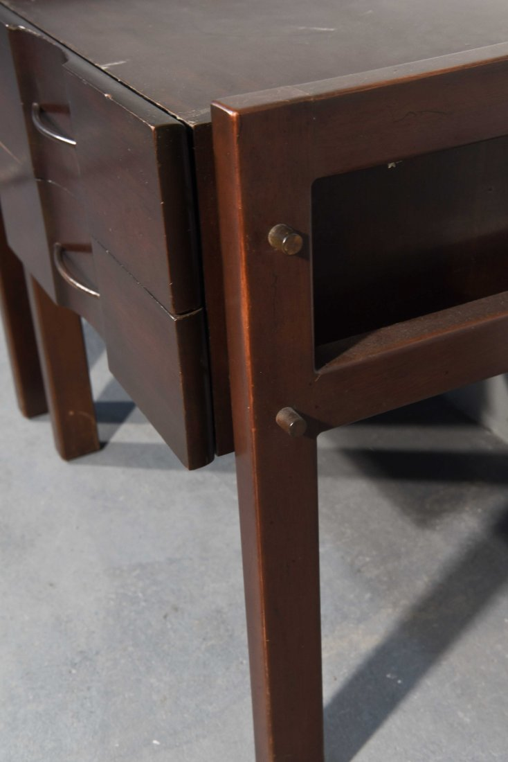(2) EDMOND SPENCE SIDE TABLES - 7