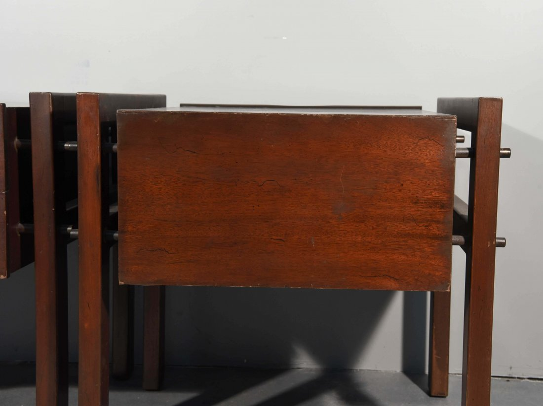 (2) EDMOND SPENCE SIDE TABLES - 9