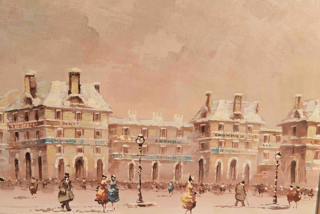 O/C DESANTIS WINTER PARIS STREET SCENE - 5
