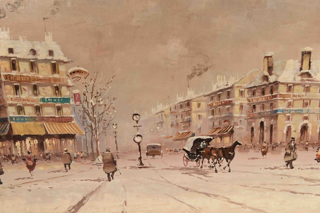 O/C DESANTIS WINTER PARIS STREET SCENE - 6