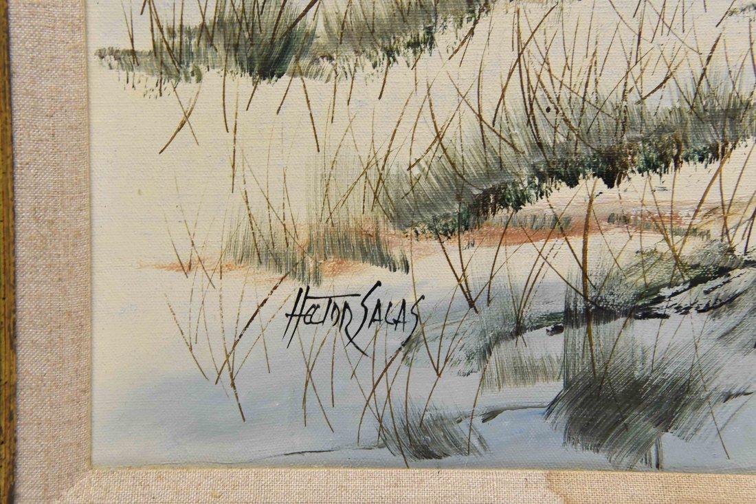HECTOR SALAS (ARGENTINA 1926 -), O/C - 5