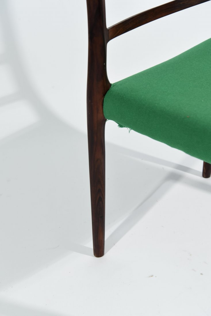 (1) MOLLER ROSEWOOD DINING CHAIR - 5
