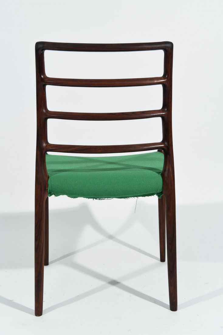 (1) MOLLER ROSEWOOD DINING CHAIR - 6