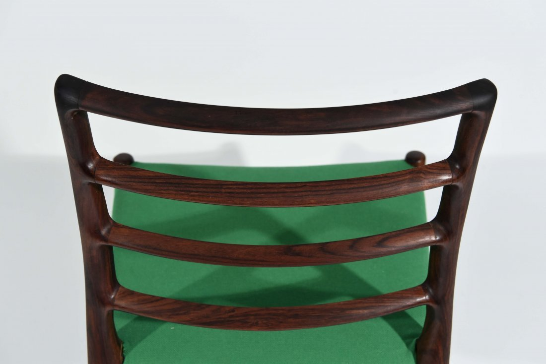 (1) MOLLER ROSEWOOD DINING CHAIR - 7